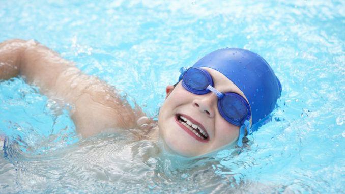 lära sig simma