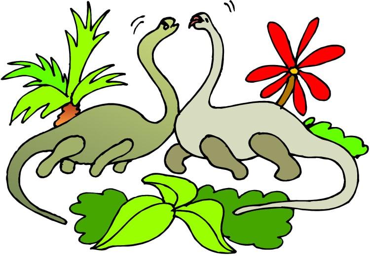 Pysselblad Dinosaurier