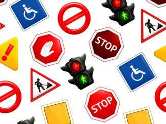 trafikmärken barn pyssel