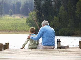 fiska med barnen