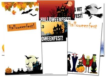 halloweenfest inbjudningar