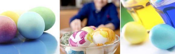 färga ägg