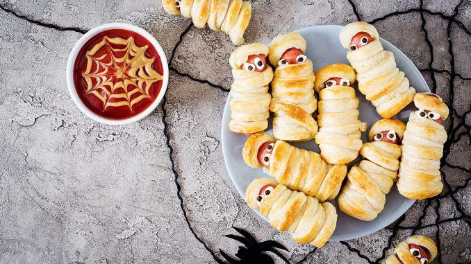läskigt god mat till halloween