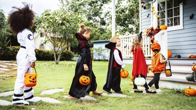 skattjakt till halloween